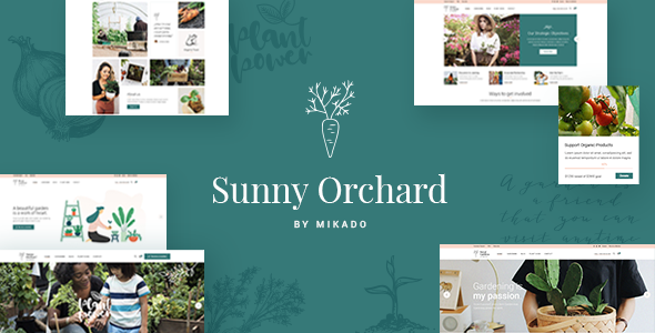 SunnyOrchard - Landscaping and Gardening Theme