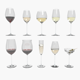 Riedel Superleggero Glases With Wine Collection - 3DOcean Item for Sale