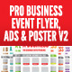 Business Event Flyer, Advertisement & Poster Vol.2 - GraphicRiver Item for Sale