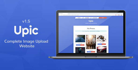 Upic - Complete Image Hosting Website or Hire Freelancers from FreelancerCV.com