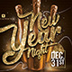 Nye Eve New Year Party Flyer - GraphicRiver Item for Sale