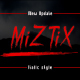 Miztix typeface - GraphicRiver Item for Sale