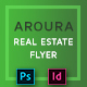 Real Estate Flyer - Aroura - GraphicRiver Item for Sale