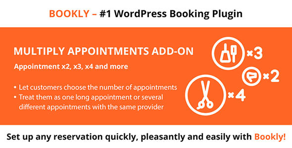 Bookly Multiply Appointments (Add-on) Download