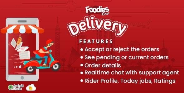 Foodies - IOS Delivery Boy Mobile App v1.0 Download