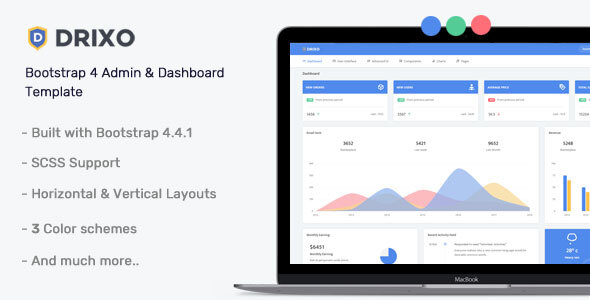 Drixo - Admin & Dashboard Template