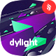 Dylight - Geometric Lightning Backgrounds - GraphicRiver Item for Sale