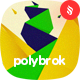 Polybrok - Geometric Composition Backgrounds - GraphicRiver Item for Sale