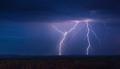 Lightning Storm at Night - PhotoDune Item for Sale