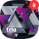 Tria -Triangles Shapes Backgrounds - GraphicRiver Item for Sale
