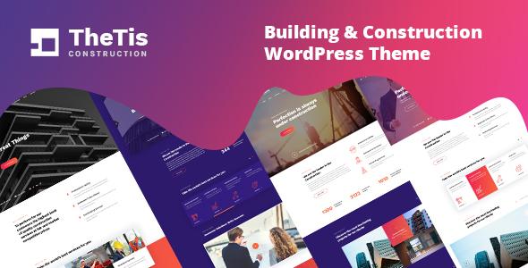 TheTis – Construction & Architecture WordPress Theme