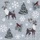 Reindeer Background - GraphicRiver Item for Sale