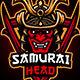 Samurai Mascot Logo - GraphicRiver Item for Sale