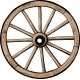 Old Wooden Wheel - GraphicRiver Item for Sale
