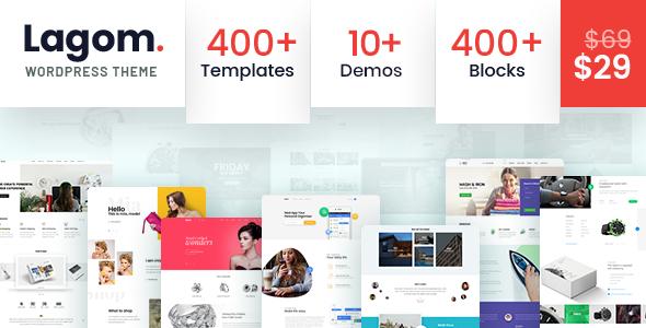 Lagom - Multi Concept MultiPurpose WordPress Theme