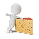 3D Small People - Cheese - GraphicRiver Item for Sale