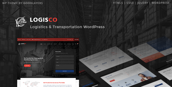 Logisco - Logistics & Transportation WordPress