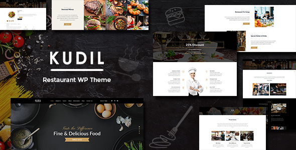 Kudil | Restaurant & Cafe WordPress