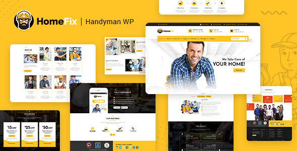 HomeFix - Plumber & Maintenance Handyman Theme
