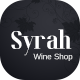Syrah - Wine Shop PSD Template - ThemeForest Item for Sale