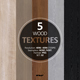 5 Wood Textures 4096x4096 / 72dpi / PNG. Set 02 - 3DOcean Item for Sale