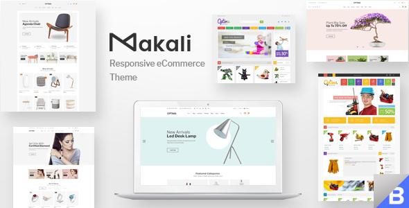 Makali - Premium Responsive Bigcommerce Template