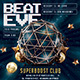 Beat Eve Mix Night Club Flyer - GraphicRiver Item for Sale