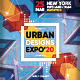 Expo Invitation for Urban Architecture Exhibition Poster / Flyer - GraphicRiver Item for Sale
