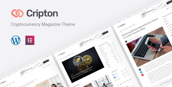 Cripton | Cryptocurrency Elementor Magazine WordPress Theme