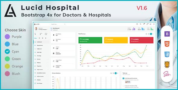 Lucid - Hospital Management Admin Dashboard Template