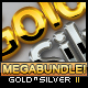 Gold & Silver Styles 2 Pro - GraphicRiver Item for Sale
