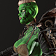 Orc Warrior Woman - 3DOcean Item for Sale