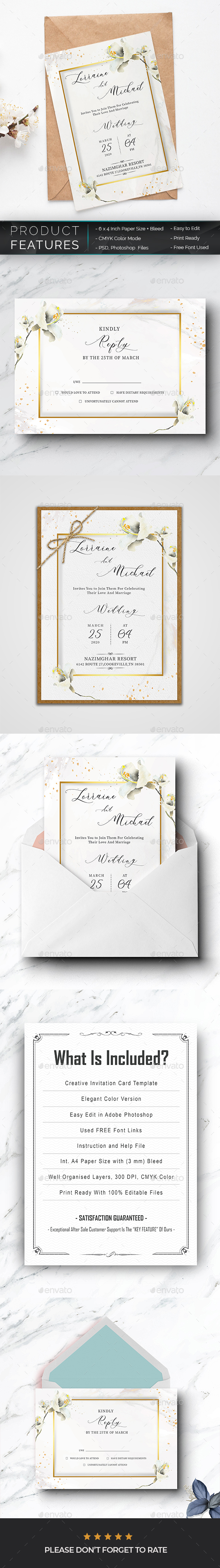 Card Designs & Invite Templates from GraphicRiver