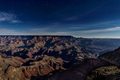 Grand Canyon at Night Lit by Moon - PhotoDune Item for Sale