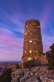 Grand Canyon Desert View Watchtower at Dusk - PhotoDune Item for Sale