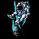 Astronaut Longboard - GraphicRiver Item for Sale