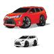 SUV Red White Wheel Car Cartoon - GraphicRiver Item for Sale