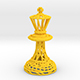 King Chess piece - 3DOcean Item for Sale