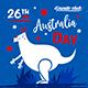 Australia Day Party Flyer vol.9 - GraphicRiver Item for Sale