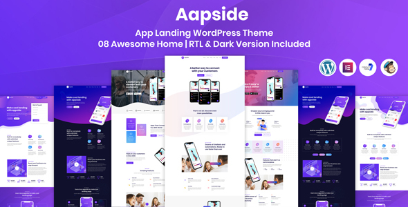 Aapside - App Landing WordPress Theme