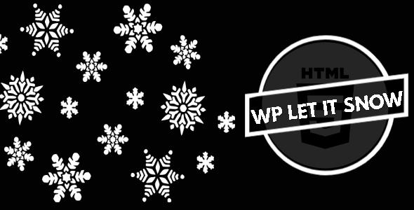 HTML5 Let It Snow