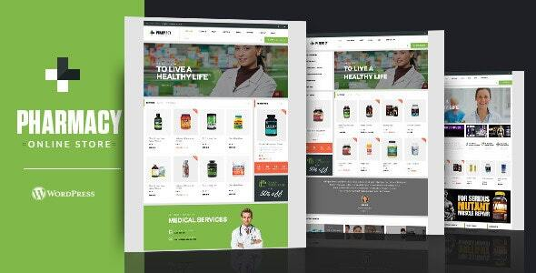 Pharmacy WooCommerce WordPress Responsive Theme