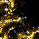 Frame Gold Ornament Particles - VideoHive Item for Sale