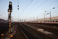 Signal in a German rail yard - PhotoDune Item for Sale