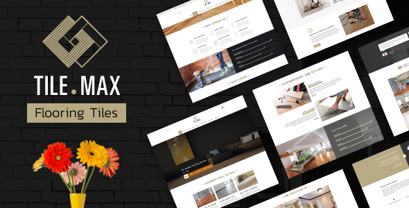 TileMax - Tiling, Flooring Company WordPress Theme