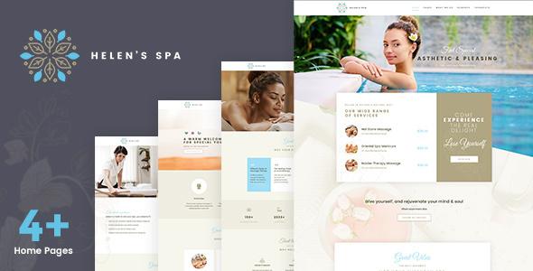Helen Spa - Beauty & Wellness Theme