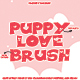 Puppy Love Brush - GraphicRiver Item for Sale