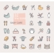 Linear Icons on the Theme of Child Care - GraphicRiver Item for Sale