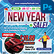 Sales Flyer + Social Media - GraphicRiver Item for Sale