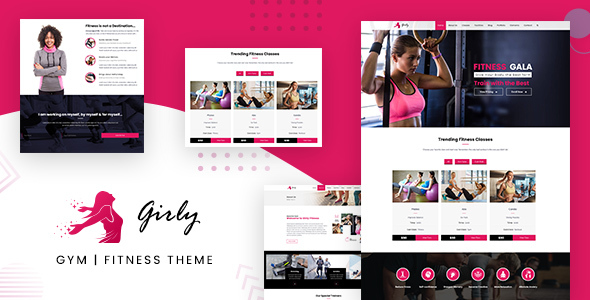 Gym Fitness WordPress
